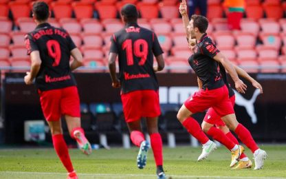 Valencia-Real Sociedad 2-2