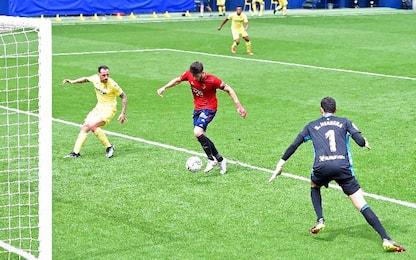 Villarreal-Osasuna 1-2