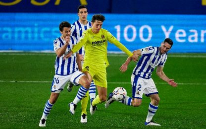 Villarreal-Real Sociedad 1-1