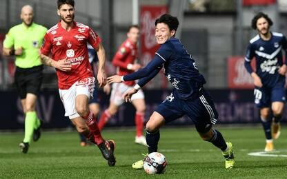 Brest-Bordeaux 2-1