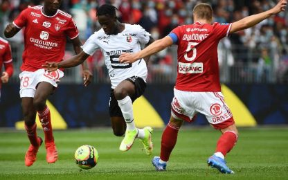 Brest-Rennes 1-1