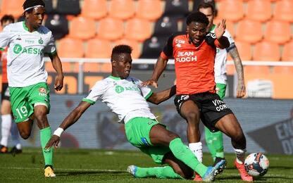 Lorient-St Etienne 2-1