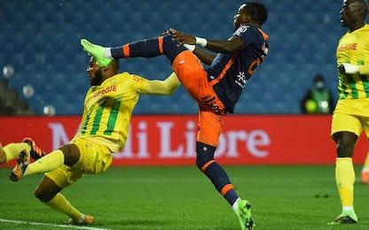 Montpellier-Nantes 1-1