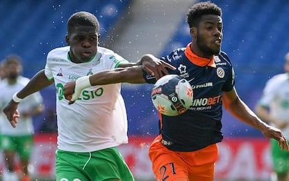 Montpellier-St Etienne 1-2