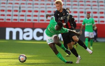 Nizza-St Etienne 0-1