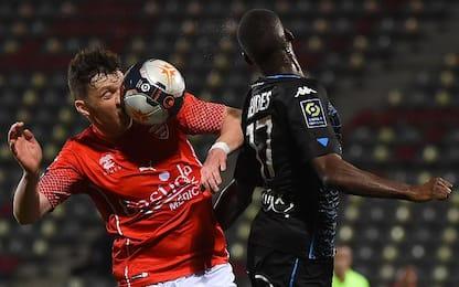 Nimes-Lorient 1-0