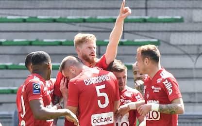 St Etienne-Brest 1-2