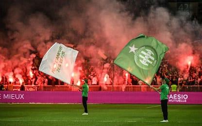 St Etienne-Lilla 1-1
