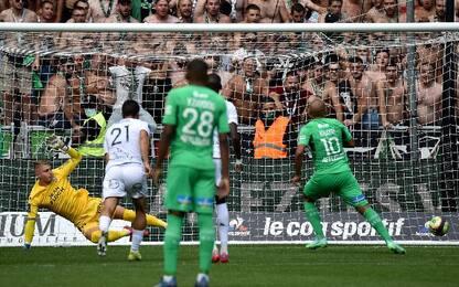St Etienne-Lorient 1-1