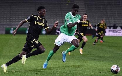 St Etienne-Nantes 1-1