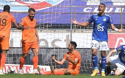 Strasburgo-Montpellier 2-3