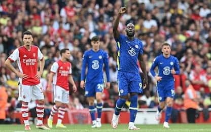 Arsenal-Chelsea 0-2