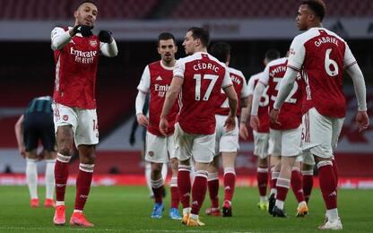 Arsenal-Leeds United 4-2