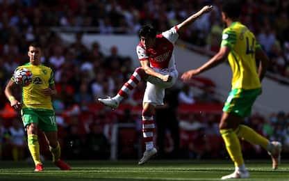 Arsenal-Norwich 1-0