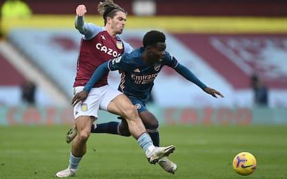 Aston Villa-Arsenal 1-0