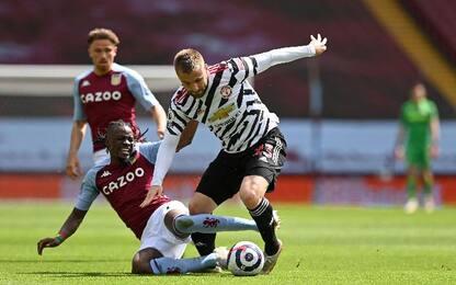 Aston Villa-Man United 1-3