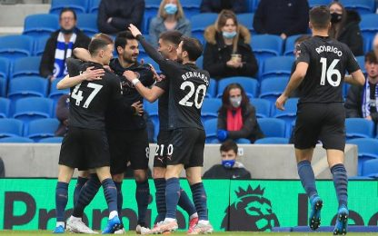Brighton-Man City 3-2