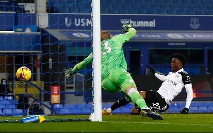 Everton-Fulham 0-2