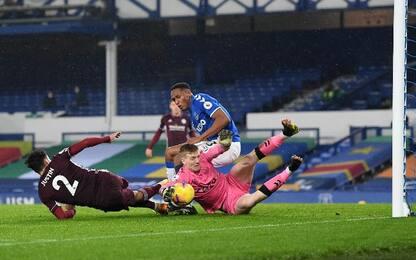 Everton-Leicester 1-1