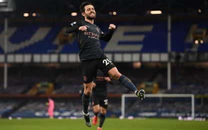 Everton-Man City 1-3