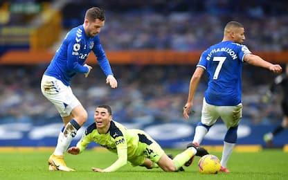 Everton-Newcastle 0-2