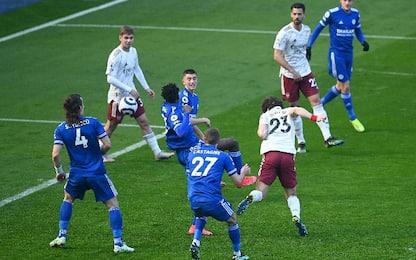 Leicester-Arsenal 1-3