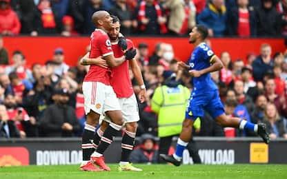 Man United-Everton 1-1