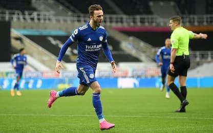 Il Leicester passa a Newcastle: finisce 2-1