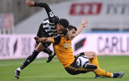 Newcastle-Wolves 1-1