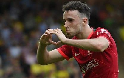 Norwich-Liverpool 0-3