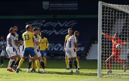 West Bromwich Albion-Brighton 1-0