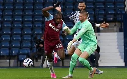 West Bromwich Albion-West Ham 1-3
