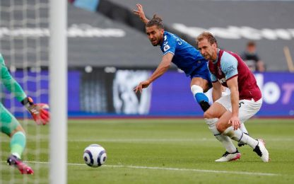 West Ham-Everton 0-1