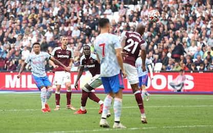 West Ham-Man United 1-2
