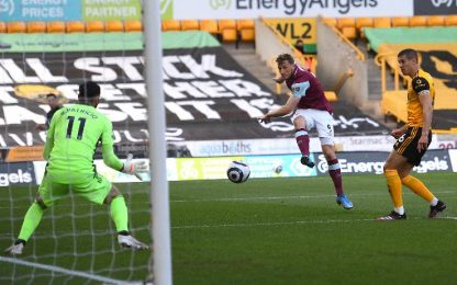 Wolves-Burnley 0-4