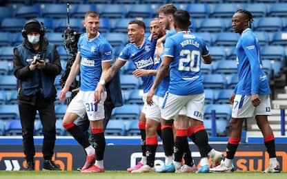 Rangers-Celtic 4-1