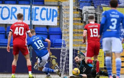 St. Johnstone-Aberdeen 0-1
