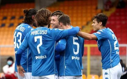 Lecce-Empoli 2-2