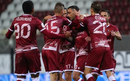 Reggina-Virtus Entella 1-0