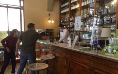 Fase 2: liberty e tecno riapre storico Caffè Meletti