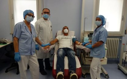 Coronavirus: Marche Nord, via a donazione plasma iperimmune