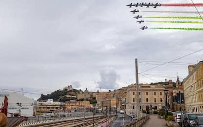2 giugno: Frecce Tricolori sorvolano Ancona e Loreto