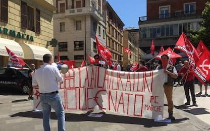 2 giugno, a Ancona presidio Partito Comunista contro Governo