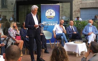 Comunali, a Macerata Lega candida Parcaroli (Med Store)
