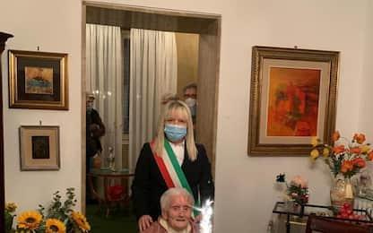 Luigia Vissani compie 106 anni a San Severino Marche