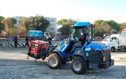 Covid: ad Ancona primo drive-through Marche operazione Igea