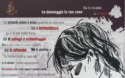 """Violenza donne: prevenzione Ps con giovani, """"non è amore"""""""