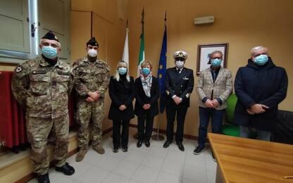 Covid, sanitari militari a casa riposo San Severino Marche