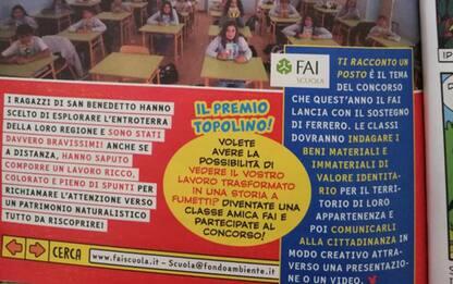 Paperino e la Sibilla, progetto scuola diventa fumetto
