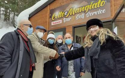 Terremoto: Ussita, inaugurato bar pizzeria delocalizzato